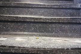 Terrazzo Stairwell resurfacing