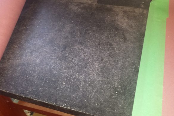 Soapstone top restoration