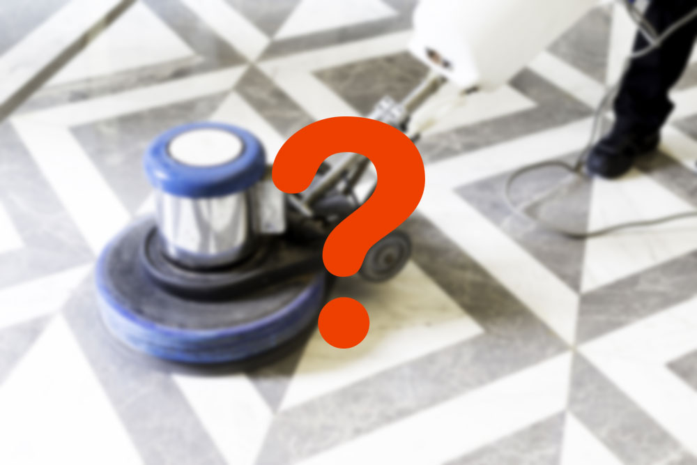 Does marble cleaning really exist?