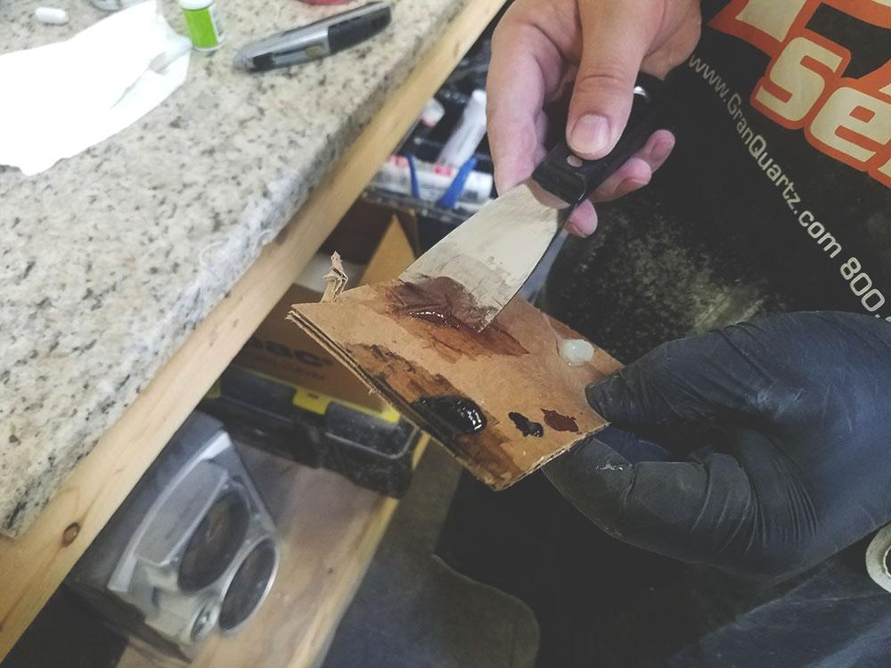How We Do Chip Repairs On Granite Countertops