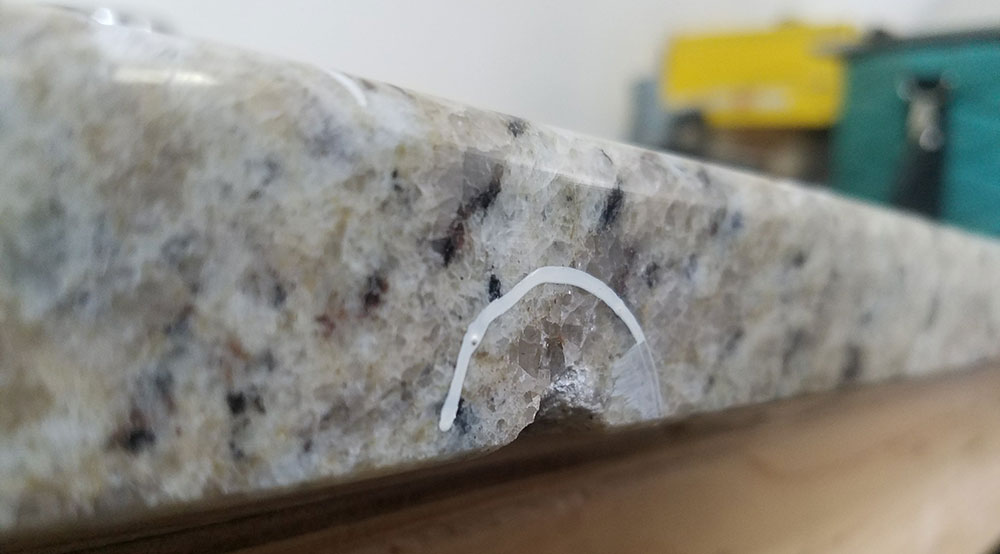 How We Do Chip Repairs On Granite Countertops