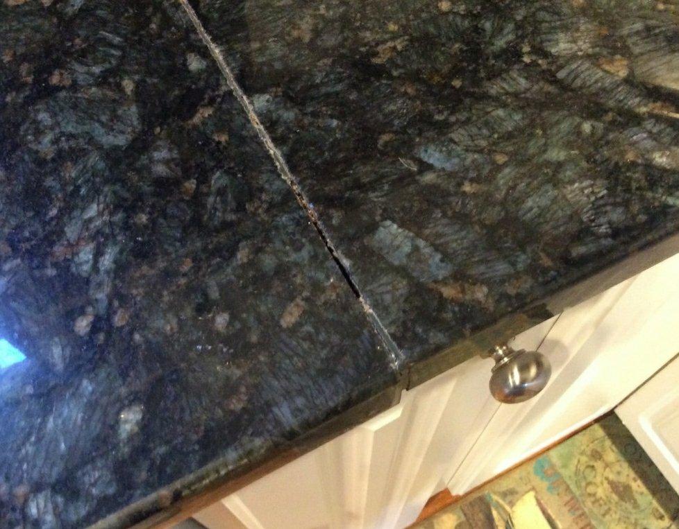 Proper Seam Repairs On Granite Countertops