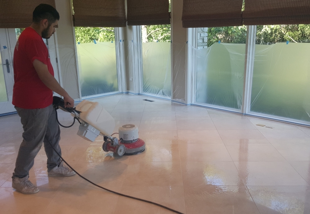 5+ Step Diamond Refinishing System For Marble Floors