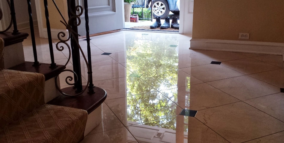 Step Diamond Refinishing System For Marble Floors