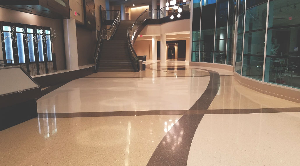 Lobby Floors As Marble and Terrazzo And Their Maintenance