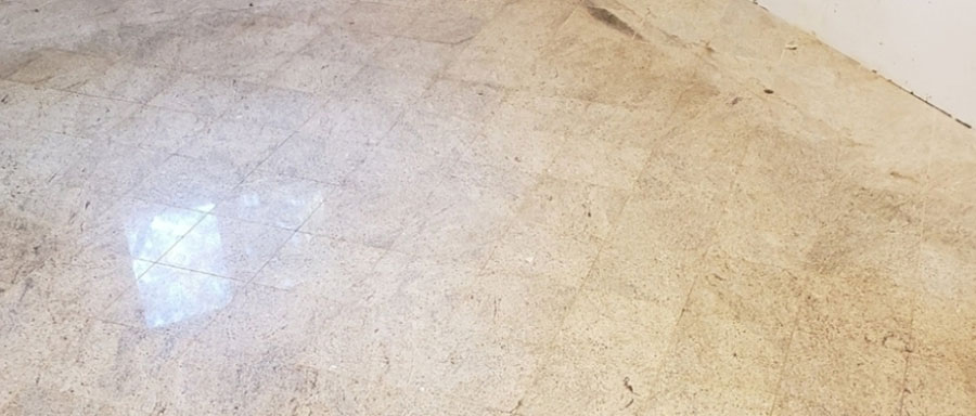 Diamond Brushing Or Antiquing Granite Floors