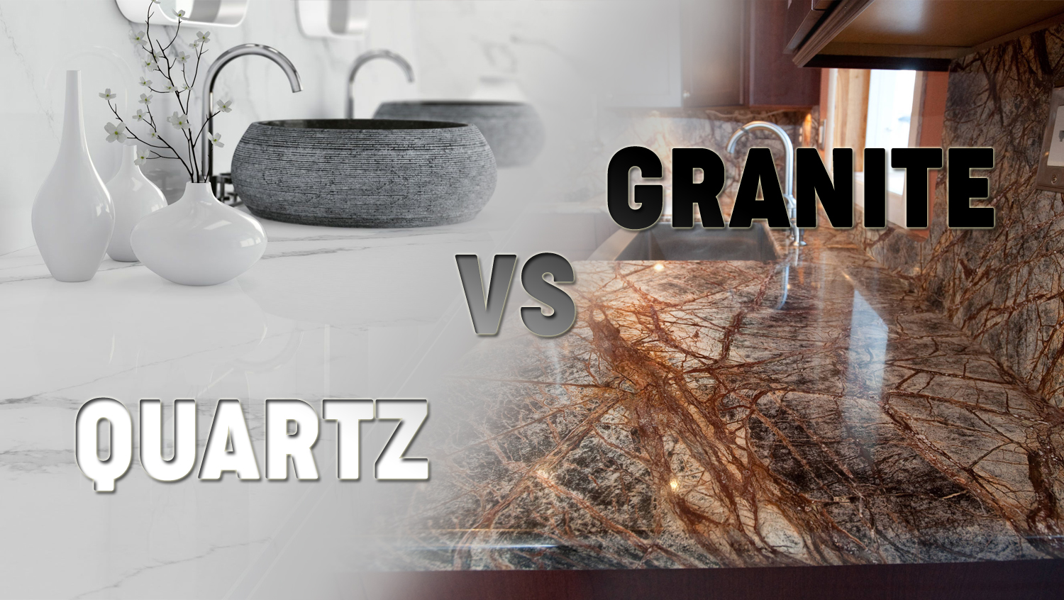 GRANITE COUNTERTOPS VS QUARTZ (PROS AND CONS)