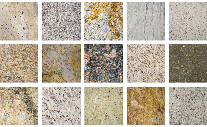 granite countertop color samples
