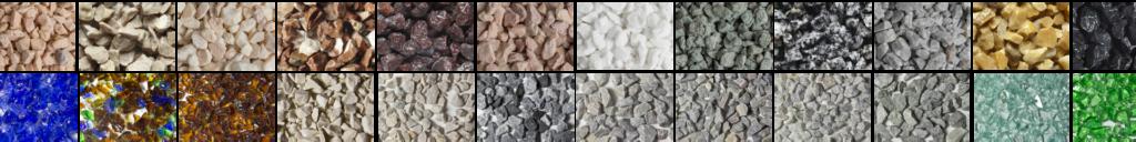 terrazzo aggregates