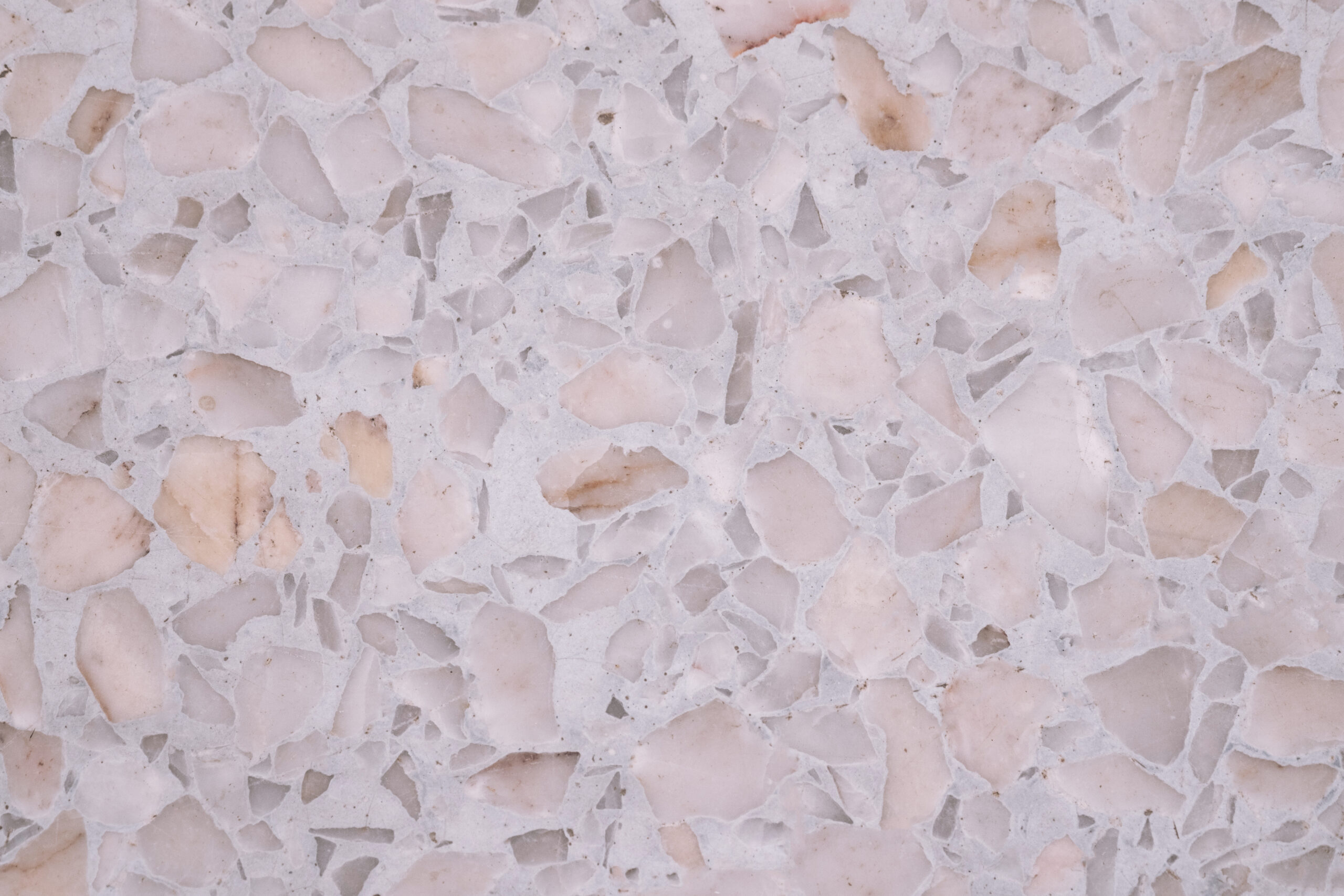 Various types of terrazzo sealing agents