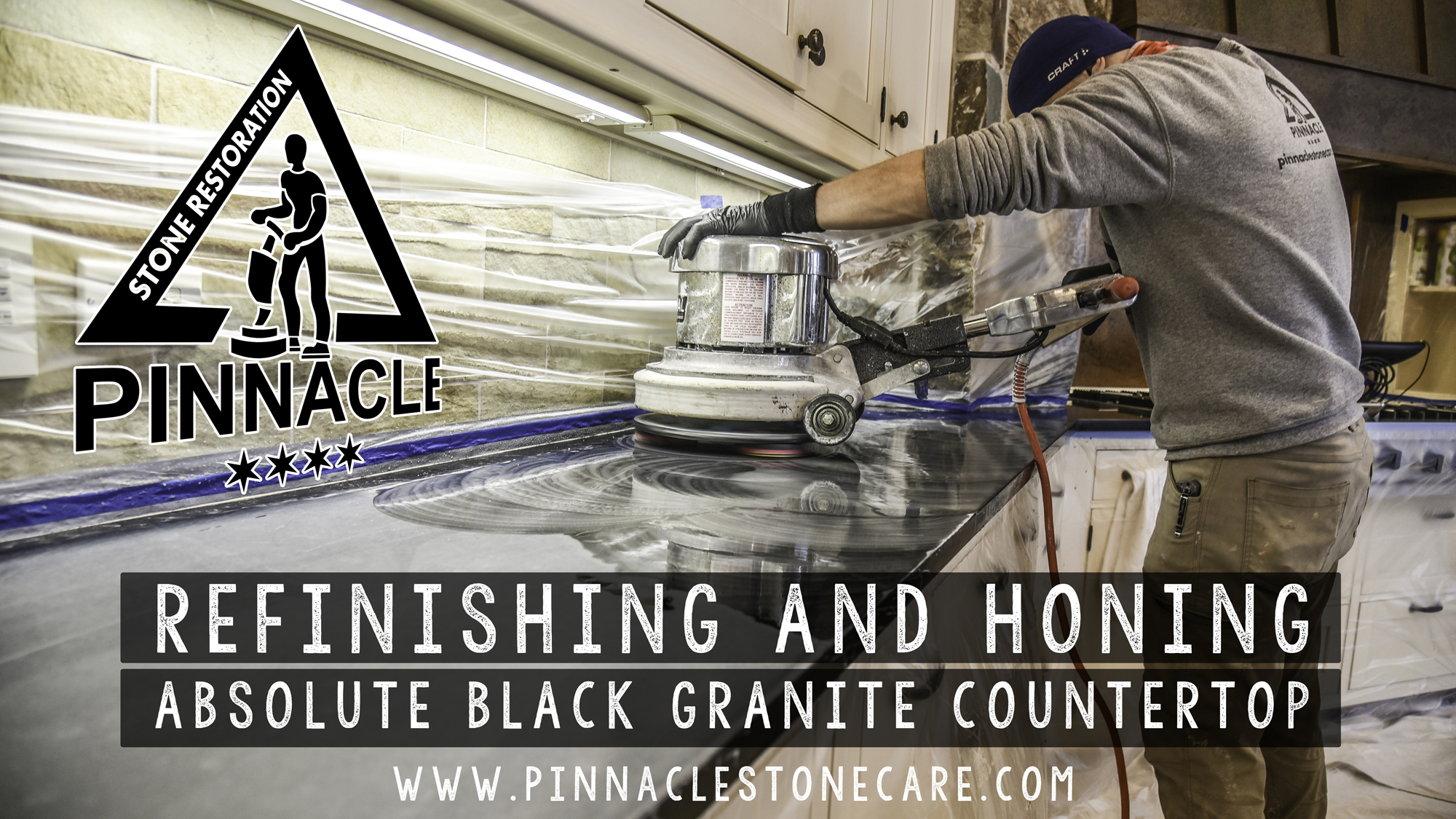 Absolute Black Granite Countertop Restoration